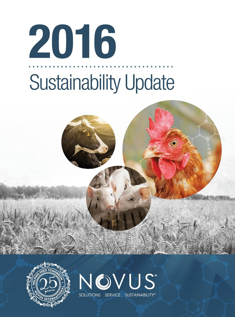 The full 2016 Sustainability Update is available for download here: http://www2.novusint.com/sustainability.