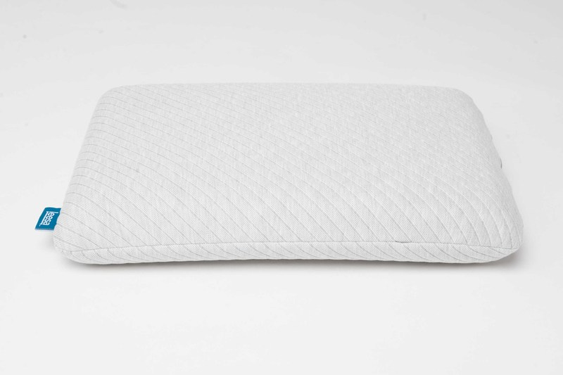 Leesa's new pillow, made with Leesa's cooling Avena® foam and Universal Adaptive Feel to ensure coolness and long-lasting shape.
