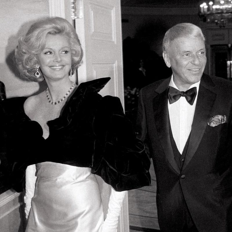 Barbara and Frank Sinatra