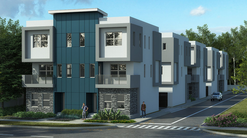 Aurora Awards Honors SoDo Place Modern Townhome Community in Orlando as Top Vote Recipient of the On-the-Board Multi-Family Community