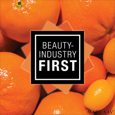 Mary Kay is proud to launch never-seen-before NEW TimeWise® Vitamin C Activating Squares™. A beauty breakthrough, each tiny square transforms into pure vitamin C when activated, adding a serious boost to your favourite serum. (CNW Group/Mary Kay Cosmetics Ltd.)