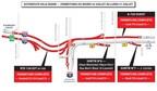 Entraves sur le réseau autoroutier - Corridor de l'A-720 à Montréal (Groupe CNW/Ministère des Transports, de la Mobilité durable et de l'Électrification des transports)