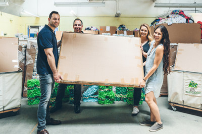 From left to right: Adam Segal, Chief Executive Officer, Storkcraft; Chris Tsoromocos, Managing Director, Trafalgar Partners Inc; Alyssa Tringale, Senior Corporate Relations Coordinator, Baby2Baby; Taylor Morton, Senior Community Coordinator, Baby2Baby