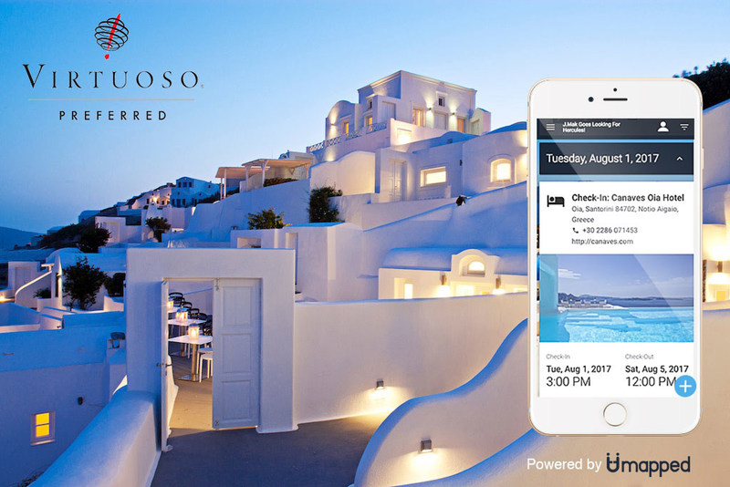 VIRTUOSO® AND UMAPPED UNVEIL INNOVATIONS TO  LEADING-EDGE ITINERARY MANAGEMENT TOOL