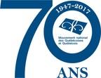 Logo : Mouvement national des Québécoises et Québécois (Groupe CNW/MOUVEMENT NATIONAL DES QUEBECOISES ET QUEBECOIS)