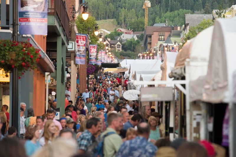 The 48th Park City Kimball Arts Festival will feature work from over 200 artists, and is the largest public fundraiser the Kimball Art Center hosts to raise funding for public art programs. Escape into the mountains and find yourself lost amongst the art and live music. Photo courtesy of Mark Maziarz.