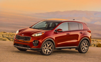 Kia Optima and Kia Sportage Ranked Top 10 Most Awarded Vehicles of 2017 by Kelley Blue Book's KBB.com