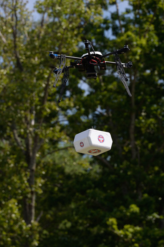 On July 17 2015, in collaboration with NASA, Flirtey conducted the first-ever FAA-approved drone delivery when it delivered multiple packages of urgent prescription medication to the Remote Area Medical health clinic in Wise, Virginia. The Virginia General Assembly unanimously passed House Joint Resolution 232 commending Flirtey for the achievement