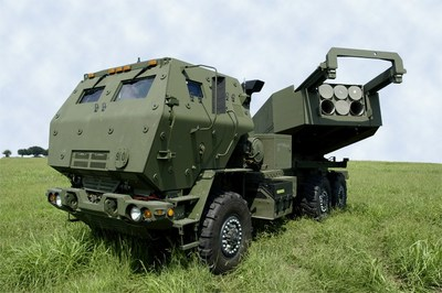 The Lockheed Martin HIMARS chassis is being manufactured for the first time at the company's Camden, Arkansas, production center.