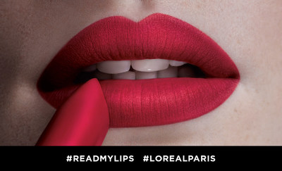 L'Oreal Paris celebra el lanzamiento de su nuevo Colour Riche Matte Lipstick en el Dia Nacional del Lapiz Labial con #ReadMyLips