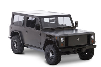 Bollinger B1 electric sport utility truck debuts with 200-mile range