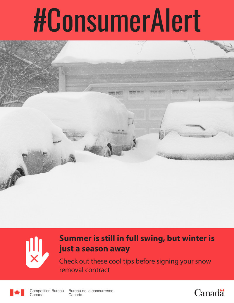 Summer is still in full swing, but winter is just a season away! (CNW Group/Competition Bureau)