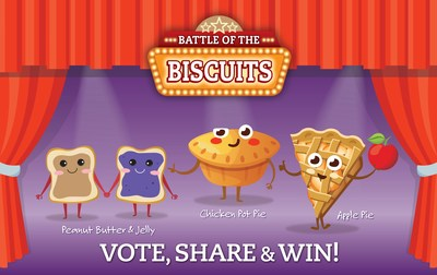 Old Mother Hubbard announces final flavors in Its Battle of the Biscuits new flavor contest.