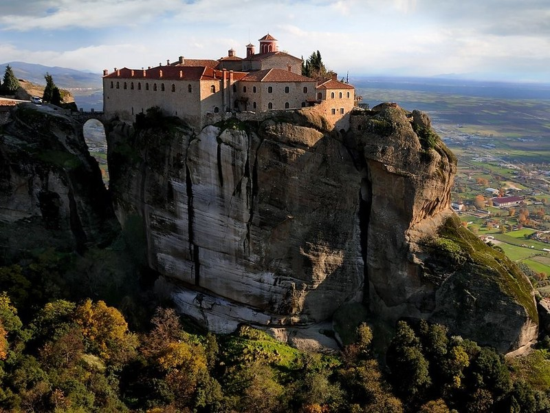 Meteora is one of the most important religious sites in Greece. Built in the 14th century, monasteries hang precariously close to the edge, with the steep monolithic pillars providing protection from warriors below. With its rich mythology and Orthodox Christian heritage, Greece is a leading destination for religious travel, offering journeys that explore temples to the gods, sacred sites and religious festivals.
