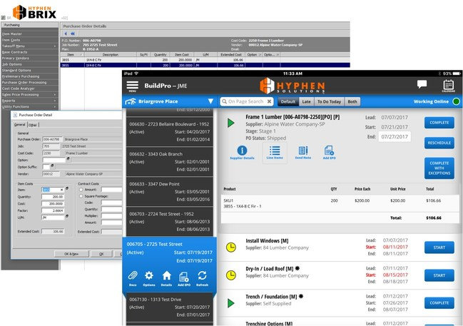 Hyphen Solutions Marks New Systems Integration With BRIX Homebuilder ERP