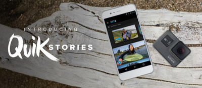 GoPro just launched the QuikStories feature on the GoPro app. QuikStories automatically creates polished, shareable videos featuring customizable music, filters, and effects.