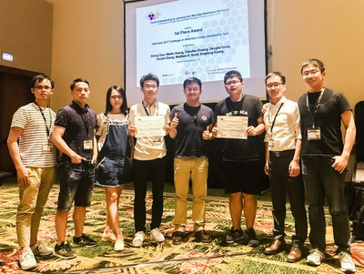 At CVPR 2017 in Honolulu, competition organizers from Google, ETH Zürich, and CMU, present the Malong team with the first place award for winning the WebVision Challenge. Google also provided a $10,000 cash prize.