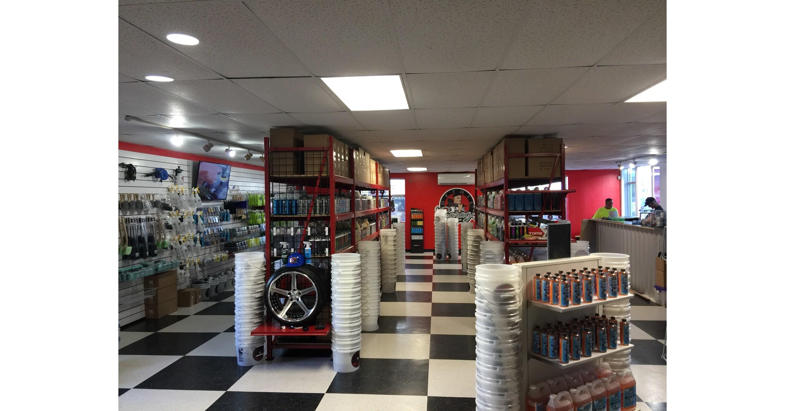 Detail garage franchise announces new location in hawaii for Garage sans franchise