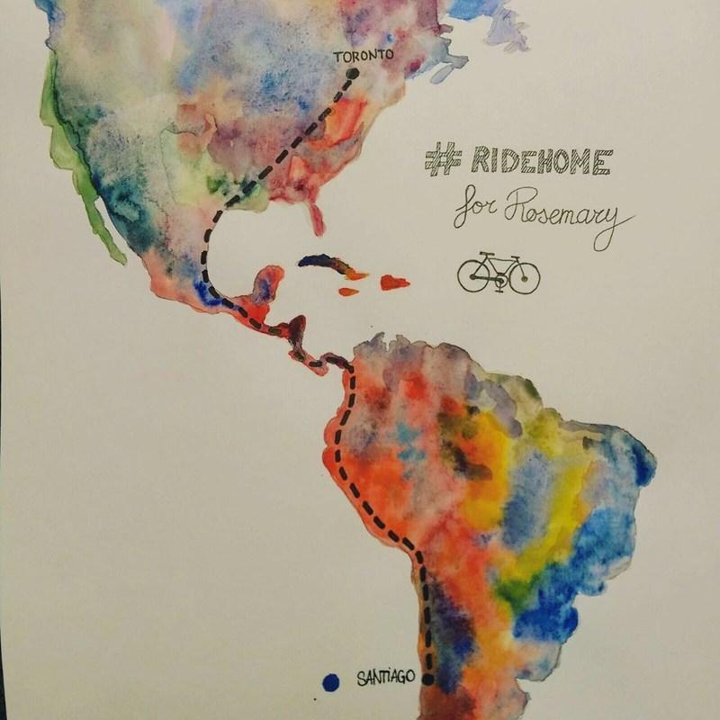 #RideHomeForRosemary (CNW Group/Adrian Marziliano)