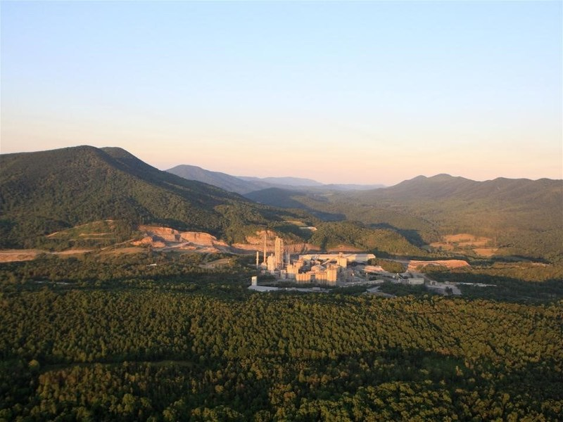 According to the EPA, Roanoke Cement's Troutville Plant has used energy more efficiently than 75 percent of all cement plants in the country.