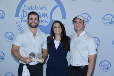 DDF Board Member Clay Rusch, DDF Founder and President Debbie Zelman, and Event Chair and DDF Board Member Jonathan Perrillo