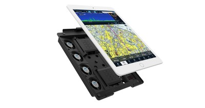 Active Cooling Mount for iPads