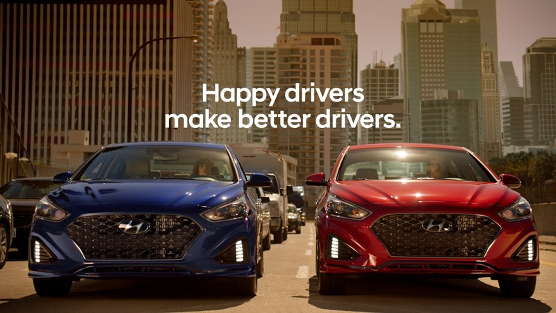 """Duet,"" a national television ad for the 2018 Sonata, shows how the captivating new design and consumer-focused technology of the vehicle helps make the daily commute better."