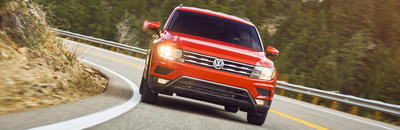 The redesigned 2018 Volkswagen Tiguan, which has a sleek new look and improved performance, is now offered at Volkswagen of Kingston.