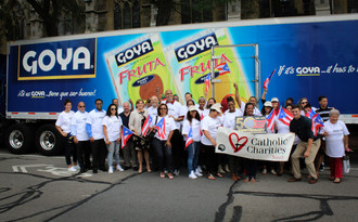 Goya Foods Donated 10,000 Pounds of Food to Catholic Charities of Boston in Recognition of the 50th Anniversary of the Puerto Rican Festival of Massachusetts