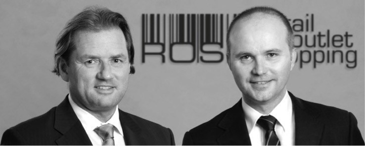 Founders & Managing Directors Thomas Reichenauer and Gerhard Graf, ROS Retail Outlet Shopping (PRNewsfoto/ROS Retail Outlet Shopping GmbH)