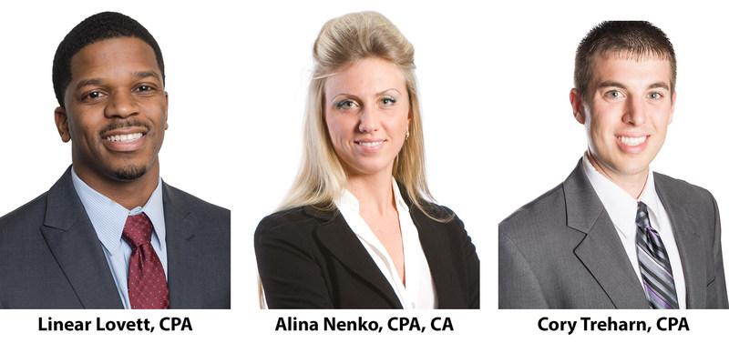 Siegfried Welcomes Three New Team Leaders: Linear Lovett, Alina Nenko, and Cory Treharn