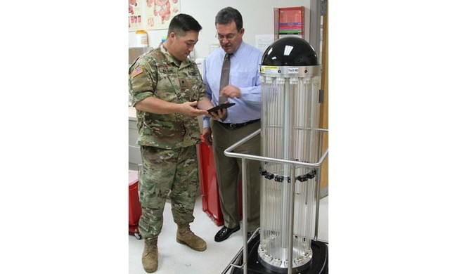 Tru-D fights germs at Army hospitals