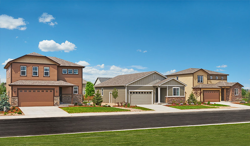 Priced within reach, ranch- and two-story Seasons™ Collection homes at Mountain Valley Preserve offer abundant curb appeal.
