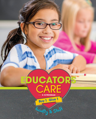 Eyemart's Educators Care campaign allows educators to earn free glasses for kids in need.