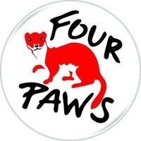 Four Paws logo (CNW Group/FOUR PAWS)
