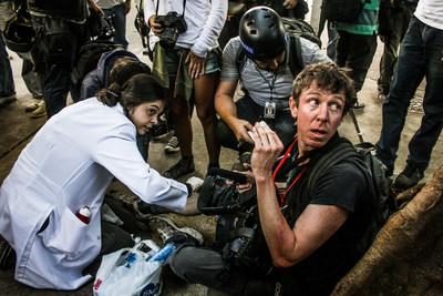 Jason O'Hara, lauréat de la Bourse Portenier, 2015 (Groupe CNW/Canadian Journalism Forum on Violence and Trauma)
