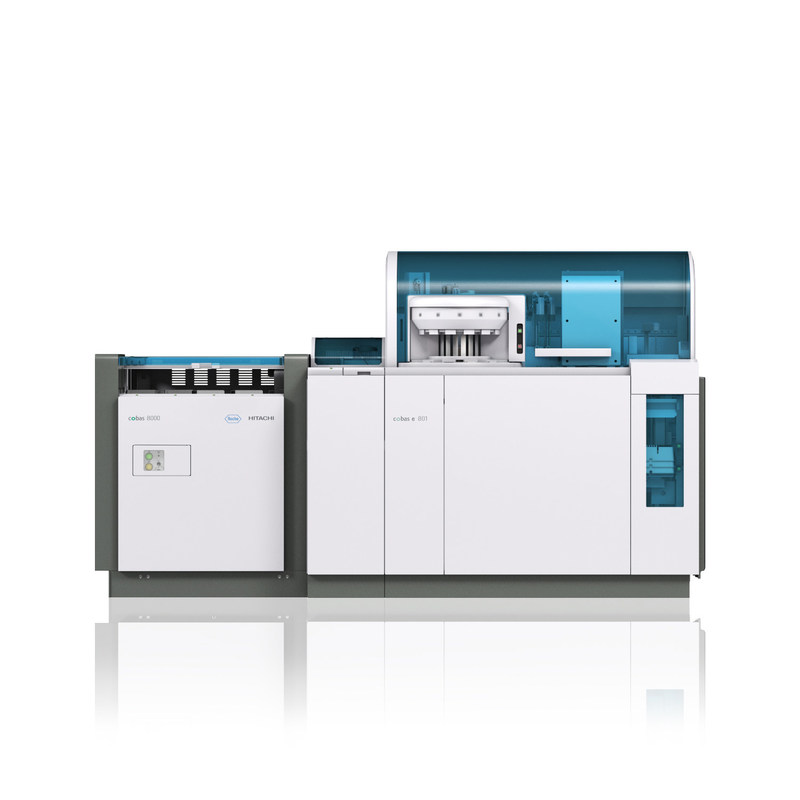 The new cobas e 801 high-volume immunoassay platform from Roche provides nearly twice the throughput on the same footprint as its predecessor. The system will be featured in Roche's booth at the 2017 AACC Clinical Lab Expo at the San Diego Convention Center beginning August 1.