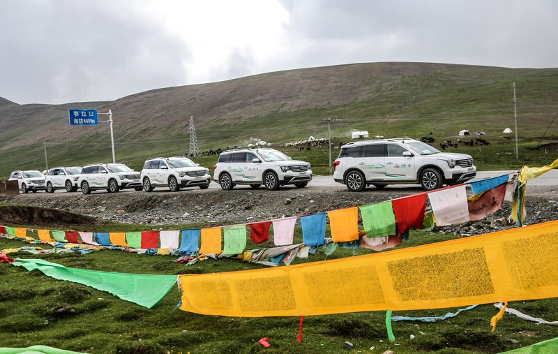 The robust and reliable GS8 vehicles were serving the staff in SNNR to protect the eco-environment.