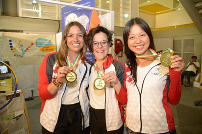 Jeux Wasa – gold medal (CNW Group/Canadian Heritage)