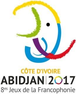 Logo des VIIIes Jeux de la Francophonie (Groupe CNW/Patrimoine canadien)
