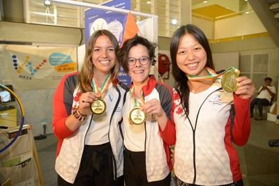 Jeux Wasa – médaille d'or (Groupe CNW/Patrimoine canadien)