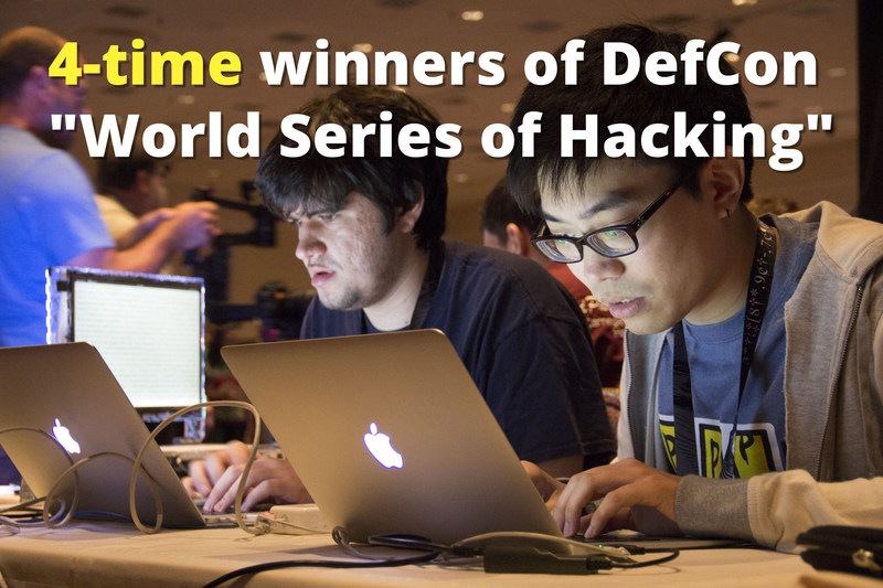 "With four wins, Carnegie Mellon's team has won the ""World Series of Hacking"" more than any other team."