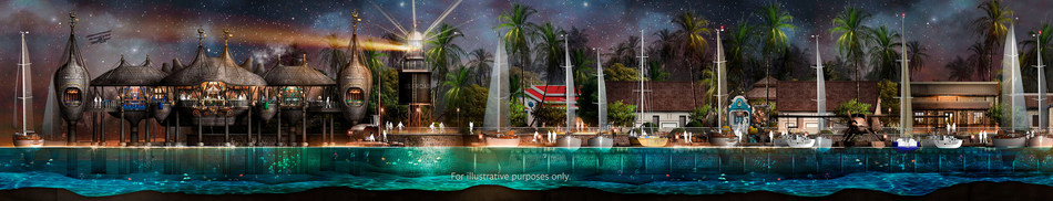 Singha Estate's Emboodhoo Lagoon project includes the US$311.5 million Phase One of the development - comprising a three-island-resorts concept, with a main Township bringing a veritable wealth of world-class F&B, retail, entertainment, recreation and leisure-lifestyle experiences to the Maldives for the very first time.