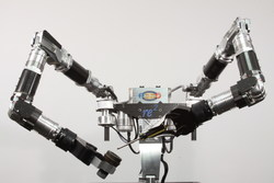 RE2 Robotics' Highly Dexterous Manipulation System (HDMS).