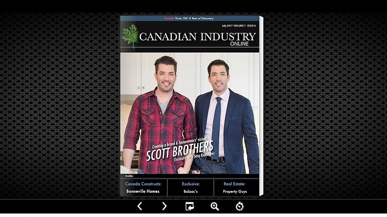 Scott Brothers featured on the cover of Canadian Industry (CNW Group/Industry Media)