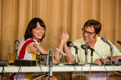 Citizen is the exclusive timepiece sponsor for the upcoming feature film Battle of the Sexes, starring Emma Stone as Billie Jean King and Steve Carell as Bobby Riggs.