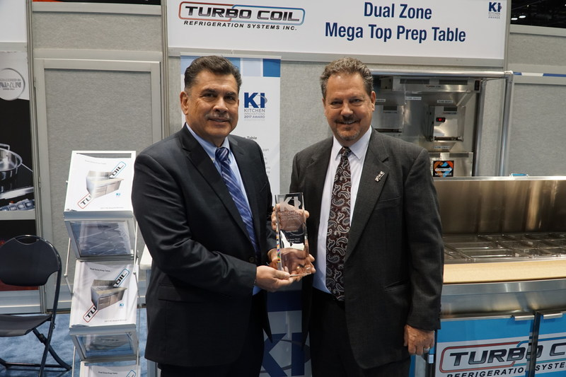 Hector Delgadillo, Turbo Coil's CEO and Tom Whalen, Montague President and CEO
