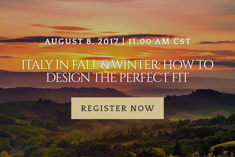 Italy in Fall & Winter: How to Design the Perfect FIT