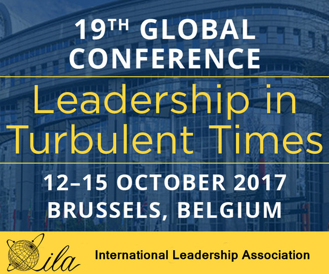 Join more than 1,200 leadership coaches and consultants, educators and students, scholars and researchers, and public leaders and executives as we learn, share, and experience more integrated leadership thinking, practices, and solutions that can positively impact our complex global and local environments. Complete conference details are available at: http://www.ila-net.org/Conferences/2017/index.html