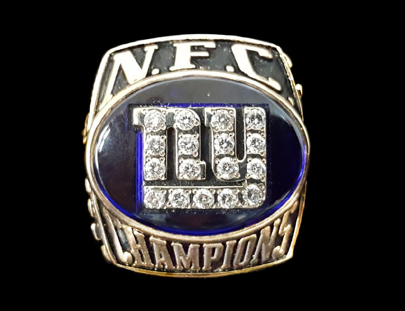 Giants NFC Championship Ring Found By www.SellYourGold.com